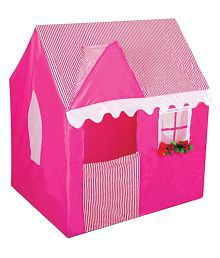 Once More Enterprise Pink Plastic Tent House