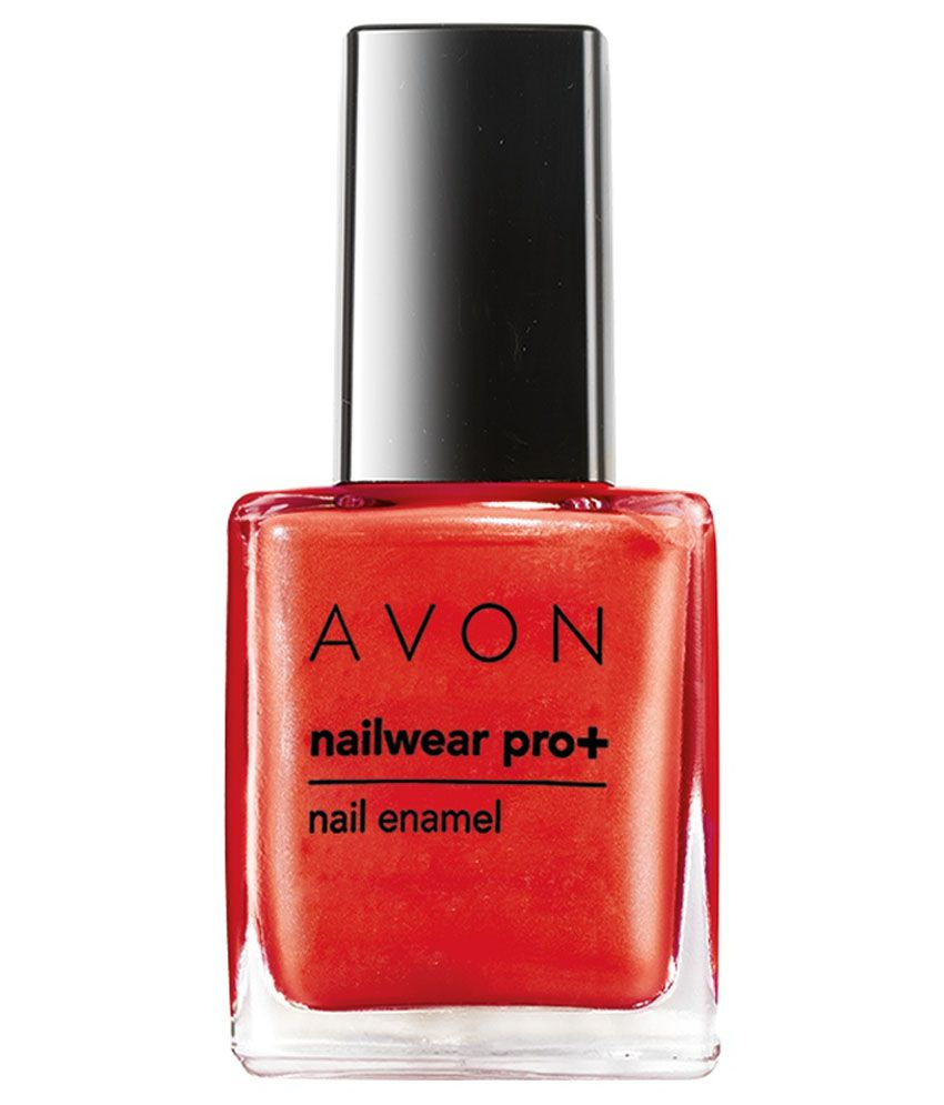 Avon Jungle Fever Nailwear Pro Plus Collection - Enchanting Red -8 ...