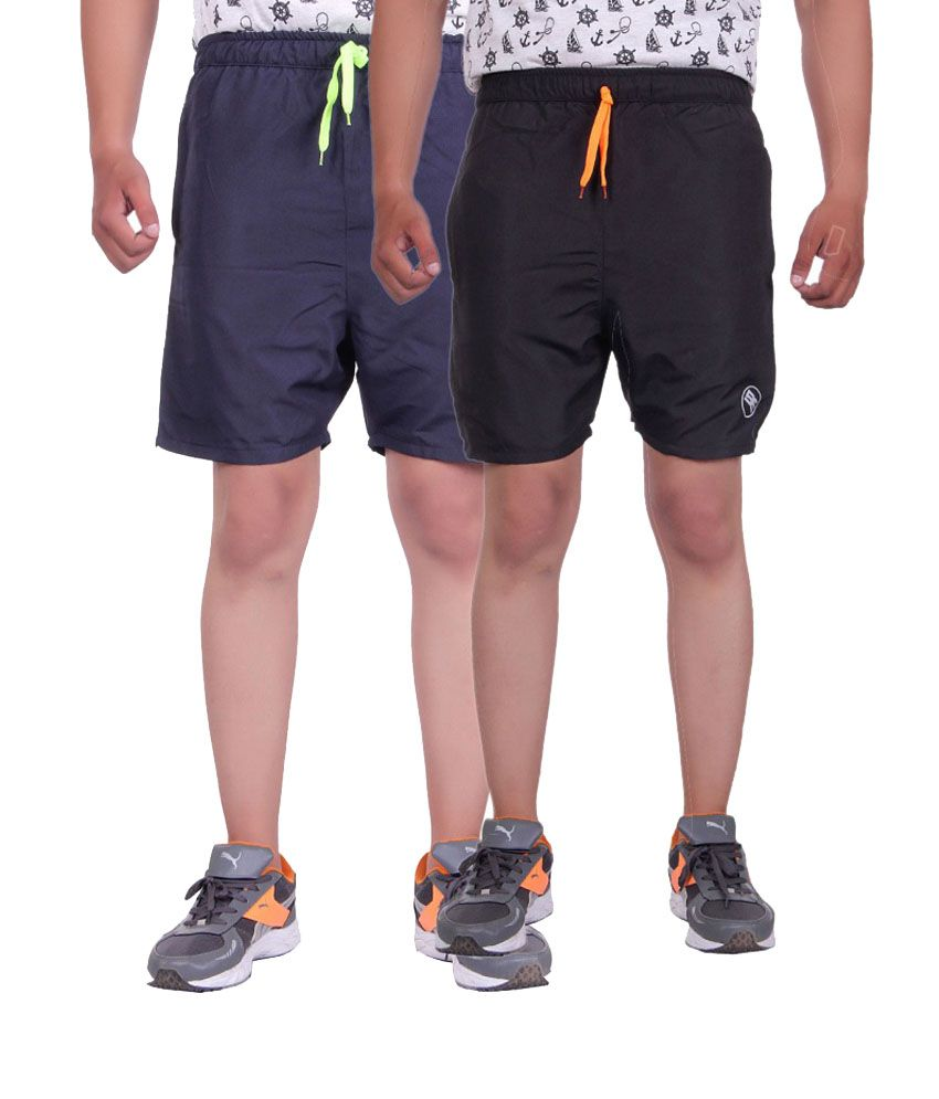 Belmarsh Black Shorts (Pack of 2)