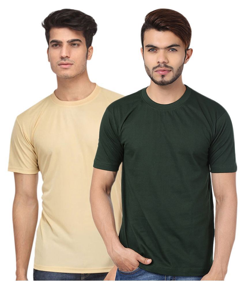 Go India Store Multi Round T Shirt