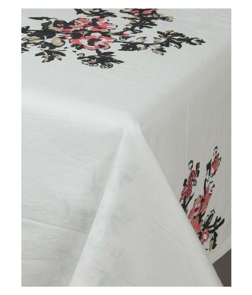myyra 6 seater cotton single table covers buy myyra 6 seater rh snapdeal com
