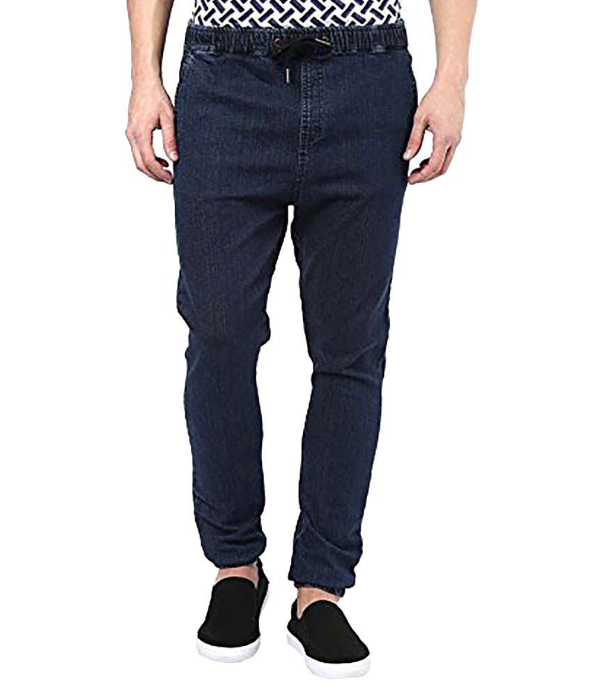 Cool Club Blue Regular Fit Jogger Jeans