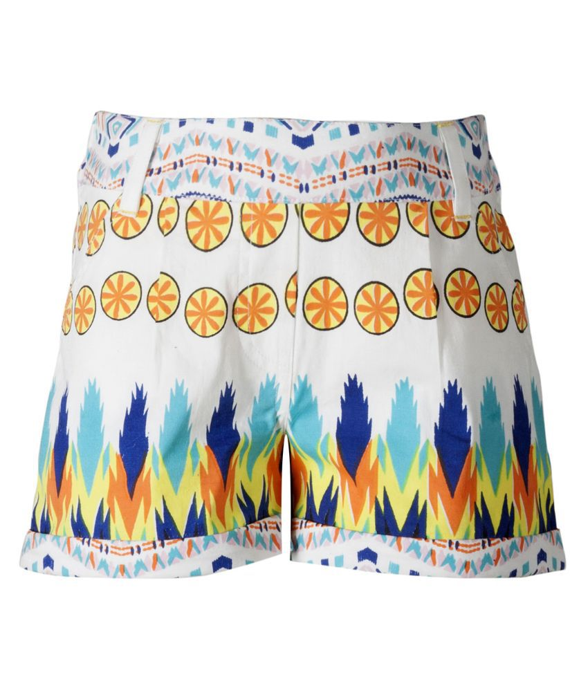 Naughty Ninos Multicolor Cotton Shorts