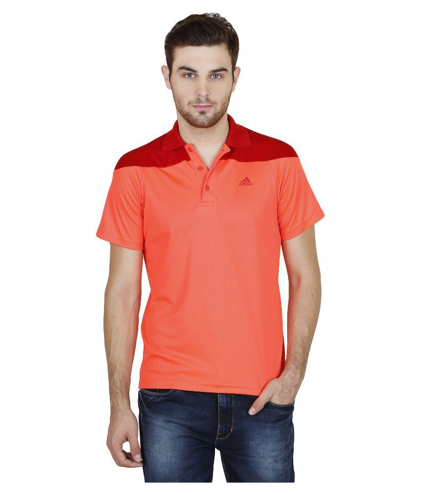 Adidas Orange Polo T Shirts - Buy Adidas Orange Polo T ...