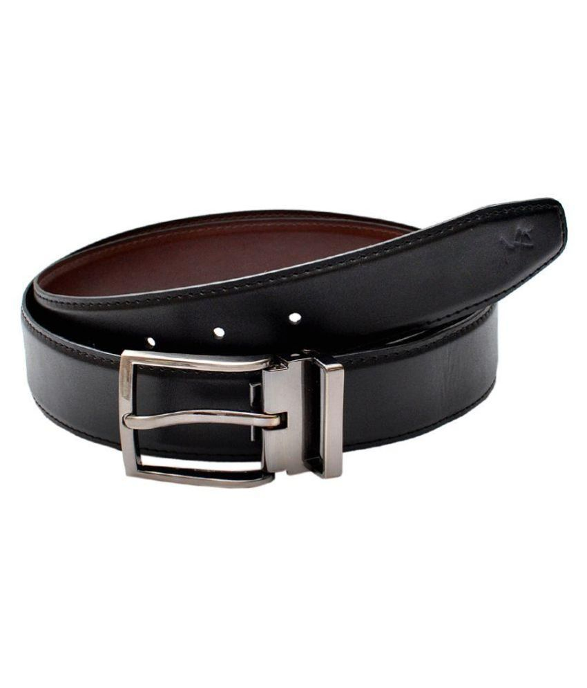 Milano X'Xssories Black Pin Buckle Reversible Belt