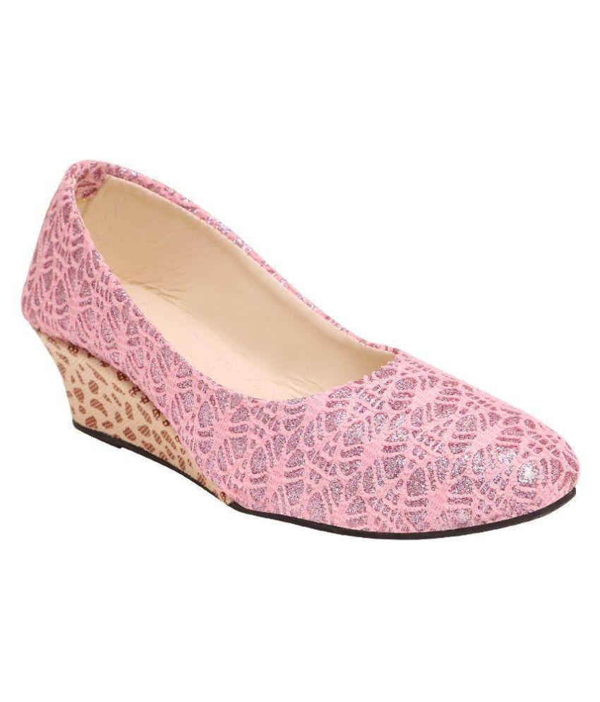 Family Footwear Pink Heels