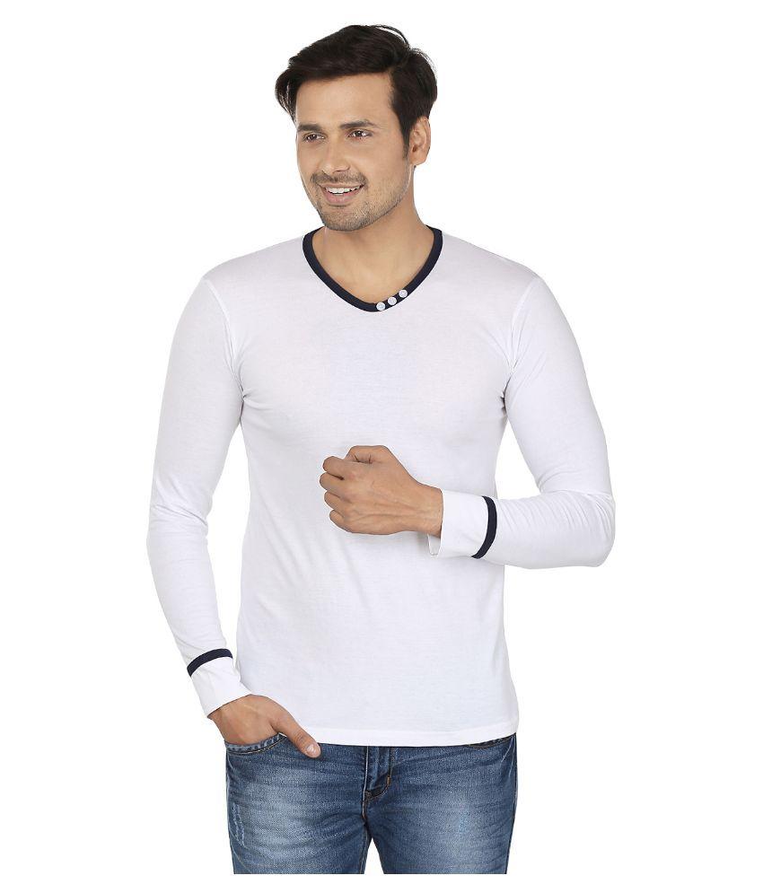 Jangoboy White Round T Shirt