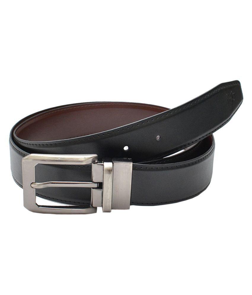 Milano X'Xssories Black Pin Buckle Reversible Formal Belt