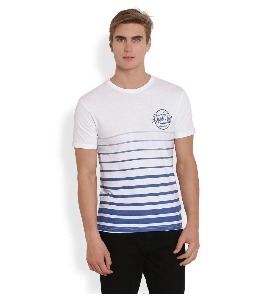 Soulstar White Round T Shirt