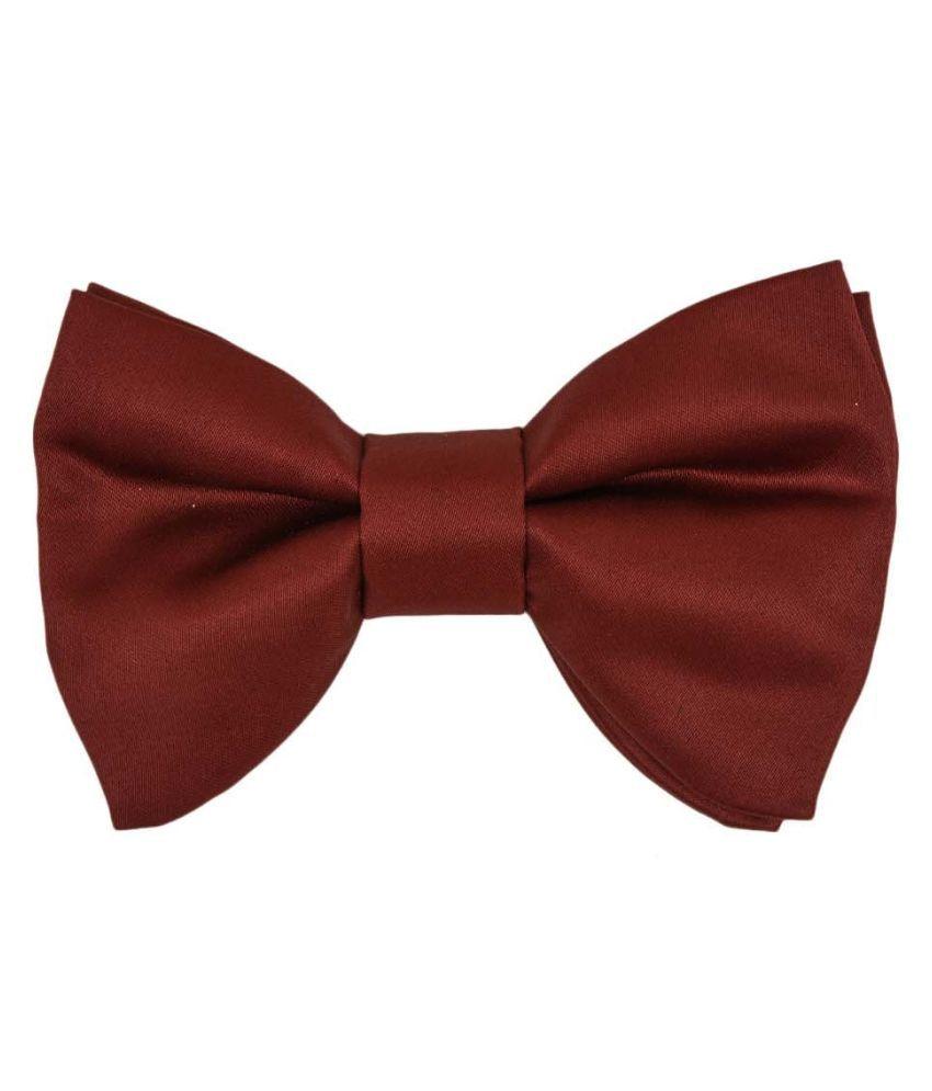 Tiekart Brown Polyester Bow Tie