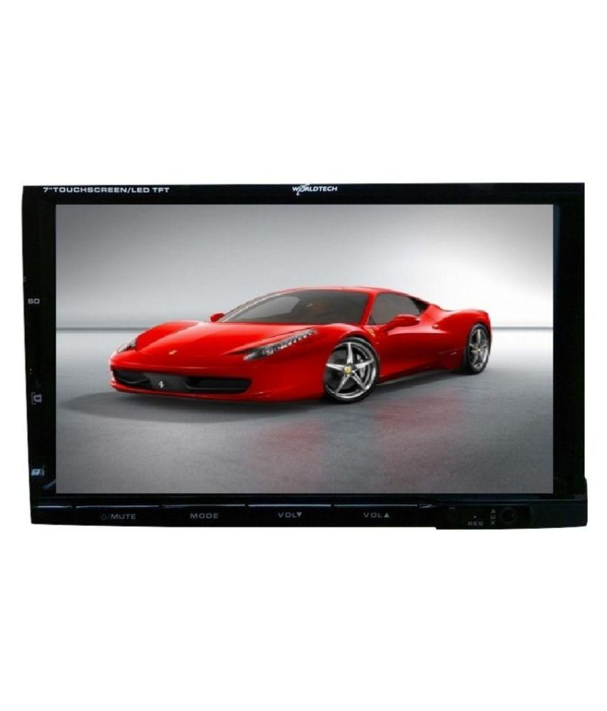 Worldtech HD Deckless 7 Inch FM/USB/ AV Player: Buy Worldtech HD