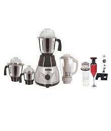 Rotomix RT_1000W_4Jar and 1Blender_C-258 Mixer Grinder Multi