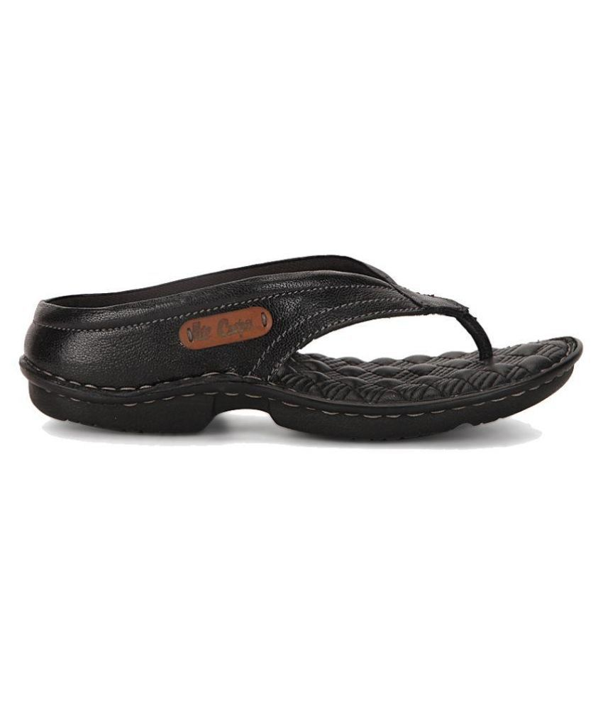 5e0baef0864fe Lee Cooper Black Flip Flops Art LC1964BLK Price in India- Buy Lee ...