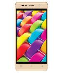 Intex Aqua Shine 4G ( 16GB Champagne Gold )