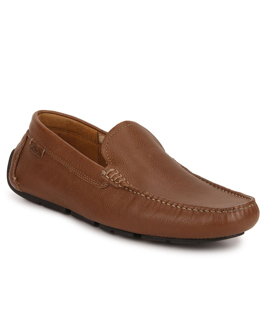 Clarks Davont Drive Tan Lifestyle Casual Shoes