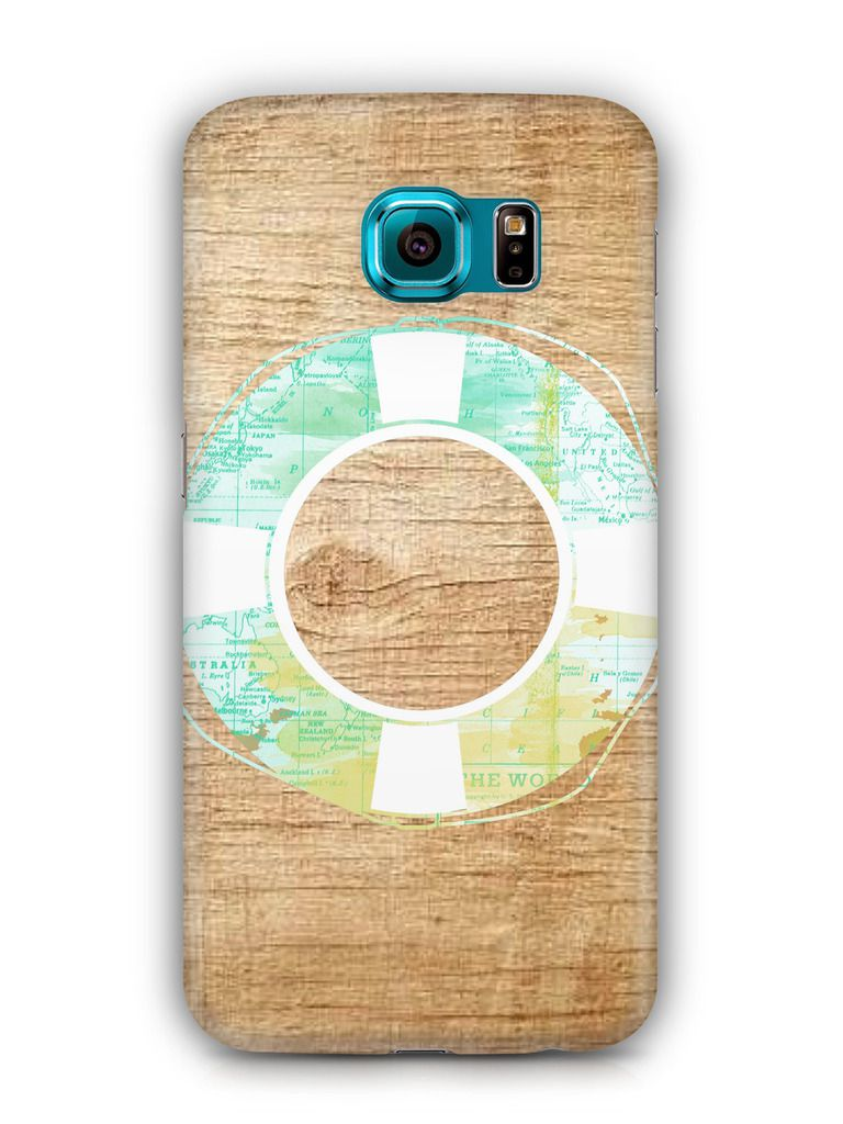 Cover Affair Wood 3D Printed Back Cover Case for Samsung Galaxy S6 Edge