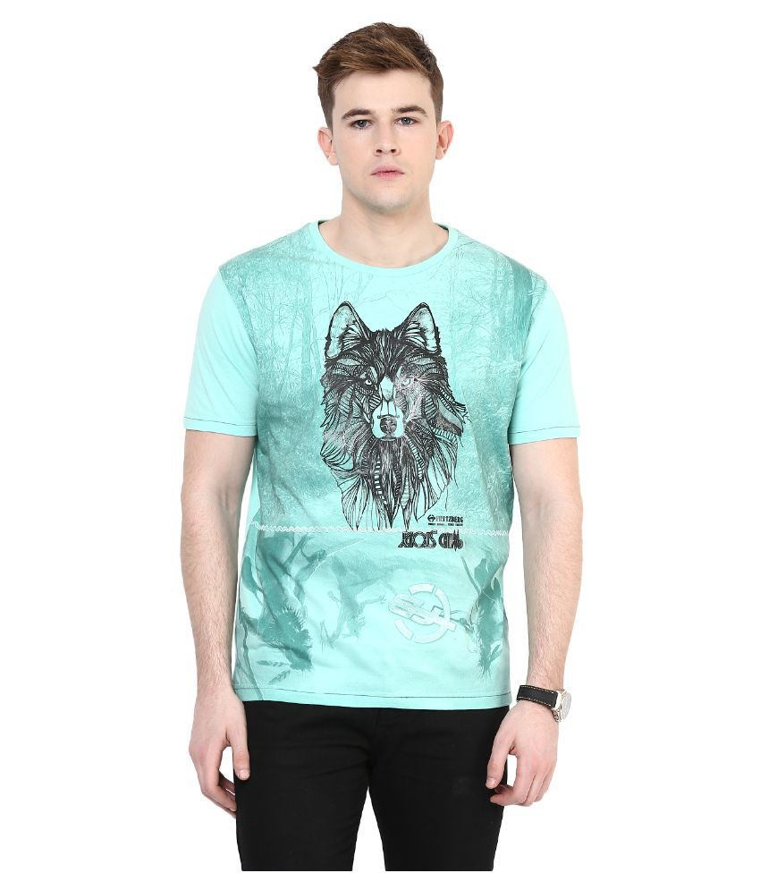 Fritzberg Blue Round T Shirt