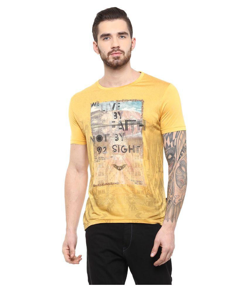 Fritzberg Yellow Round T Shirt