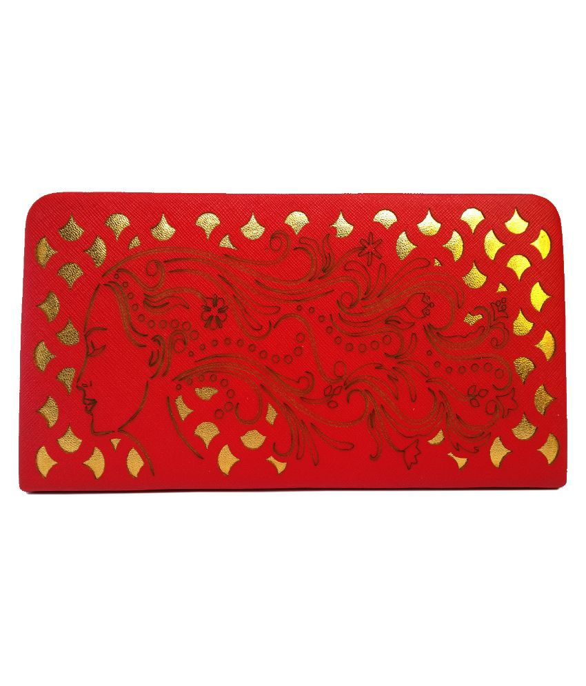 Ashley Red Wallet