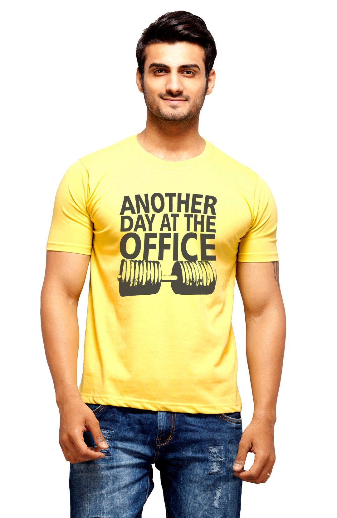 Nihaal Yellow Round T Shirt