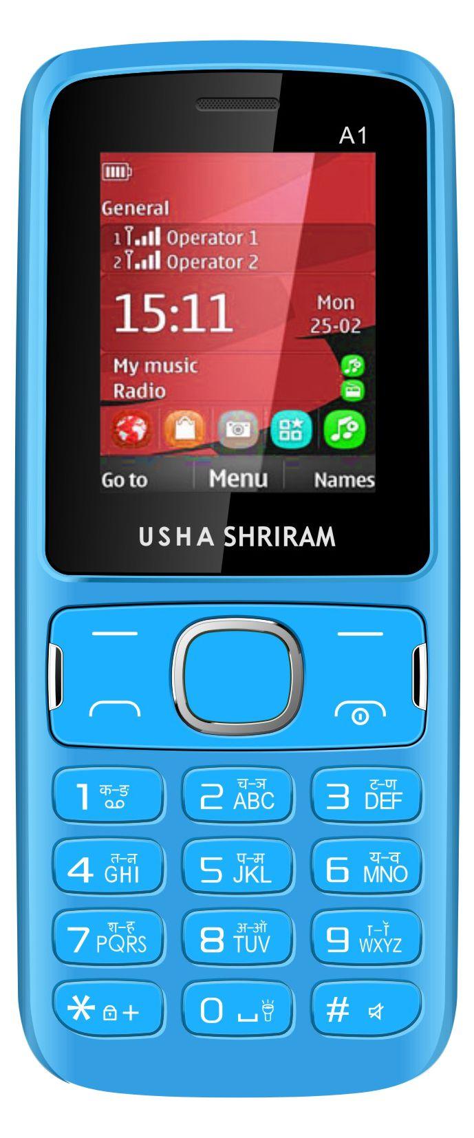 USHA SHRIRAM A1 32 MB Blue