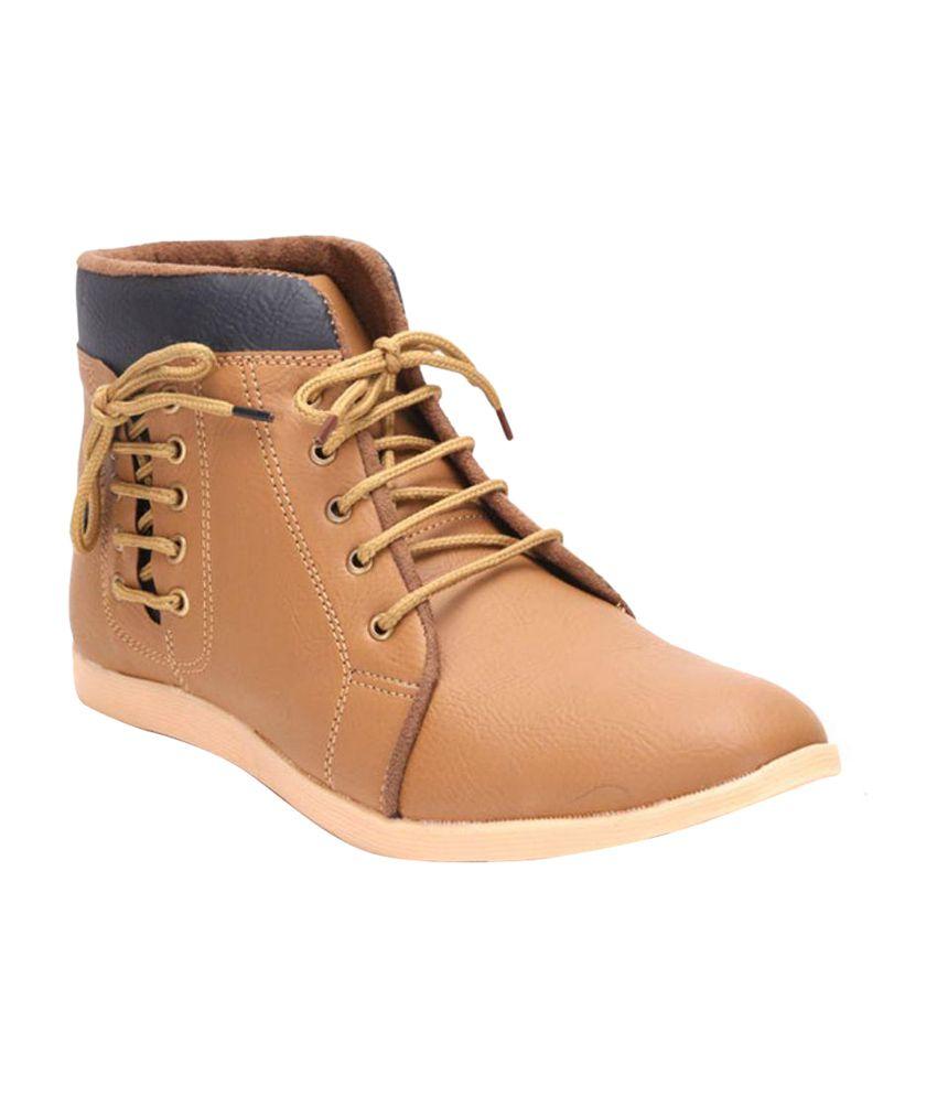 Desi Saga Tan Boots