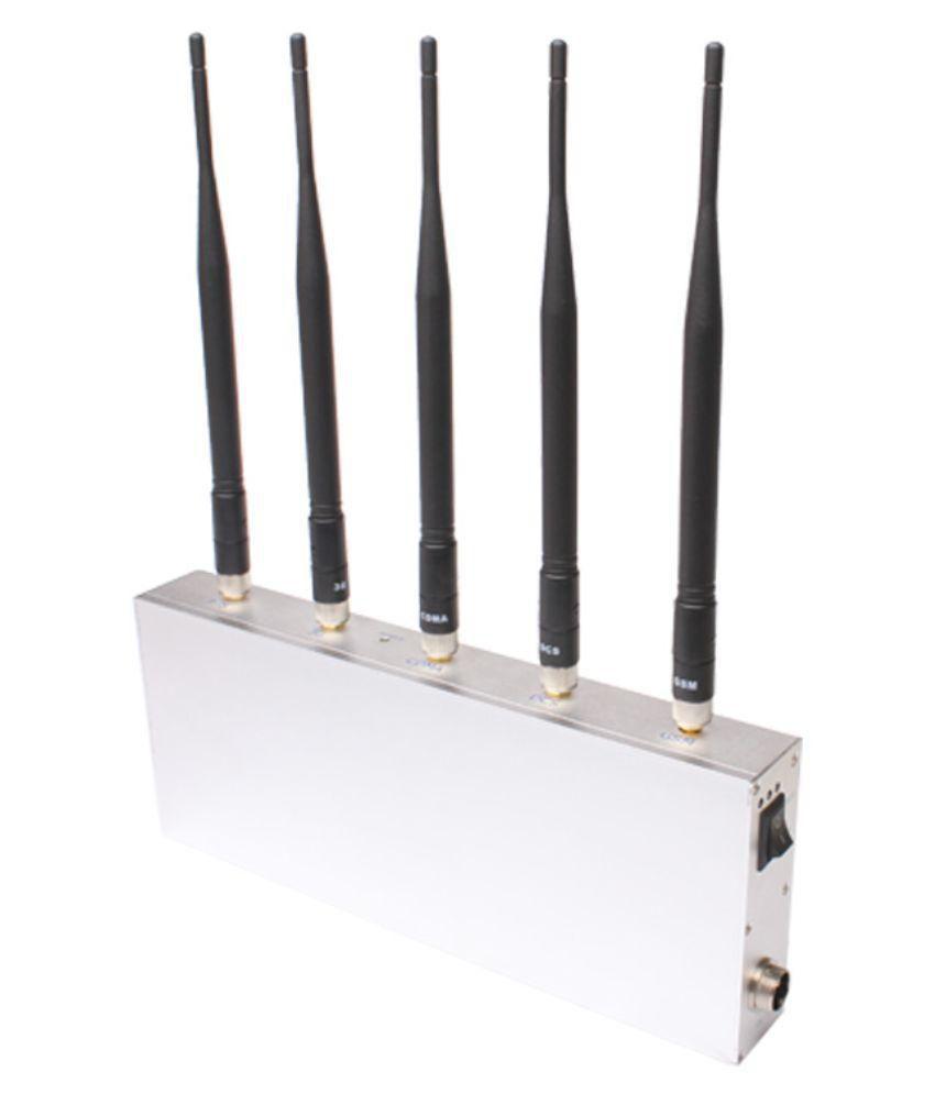 Lintratek ST-G55 Mobile Signal Jammer 1600 RJ11 White