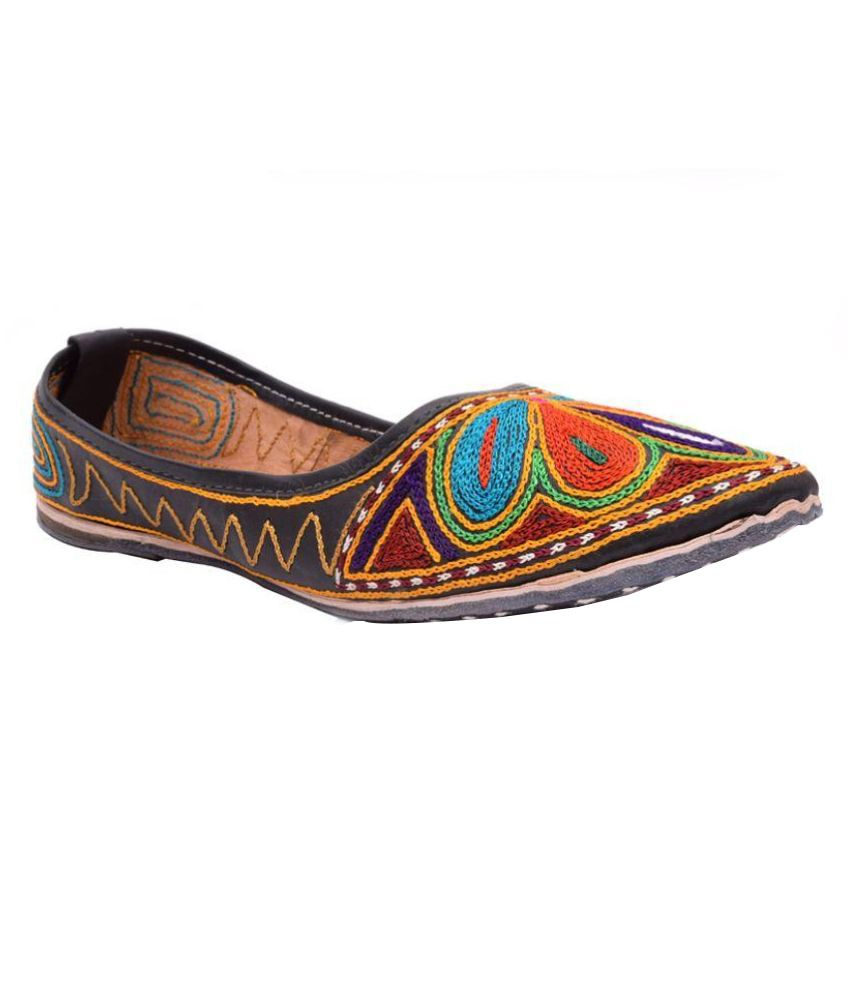 Ndeez Multi Color Ethnic Footwear