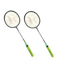 Roxon Alpha X-300 Unstrung Racquet set of 2 rackets- color as per availability