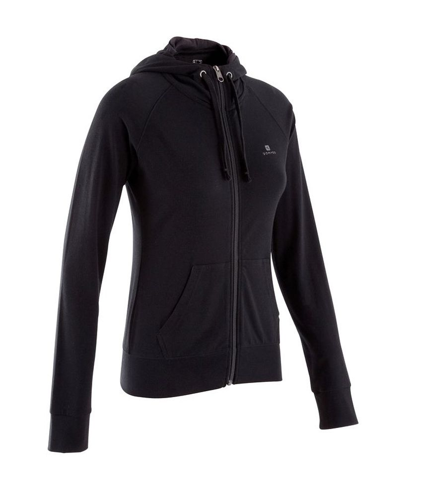 DOMYOS BB Hood Respi 2014/2 Women's Strength Training Jacket By Decathlon