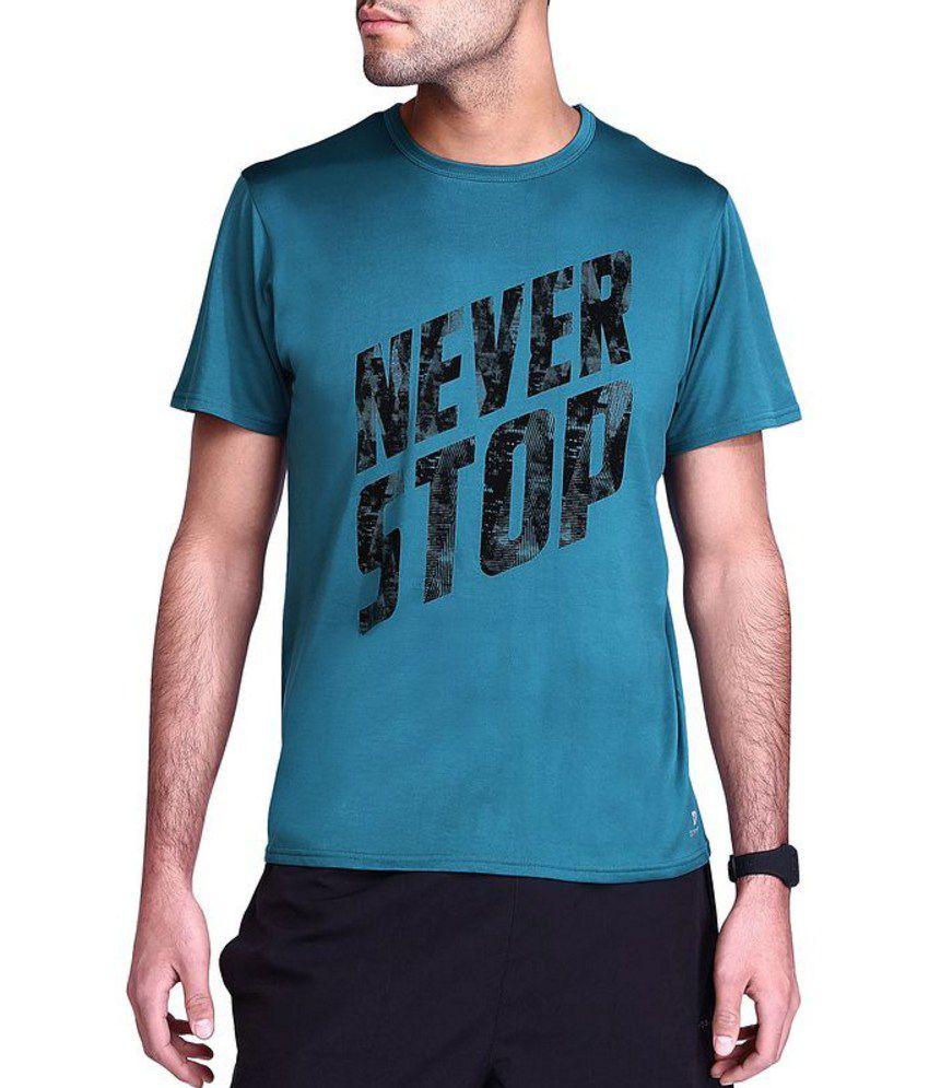 DOMYOS Breathe Print AW15 Men's Cardio T-Shirt By Decathlon