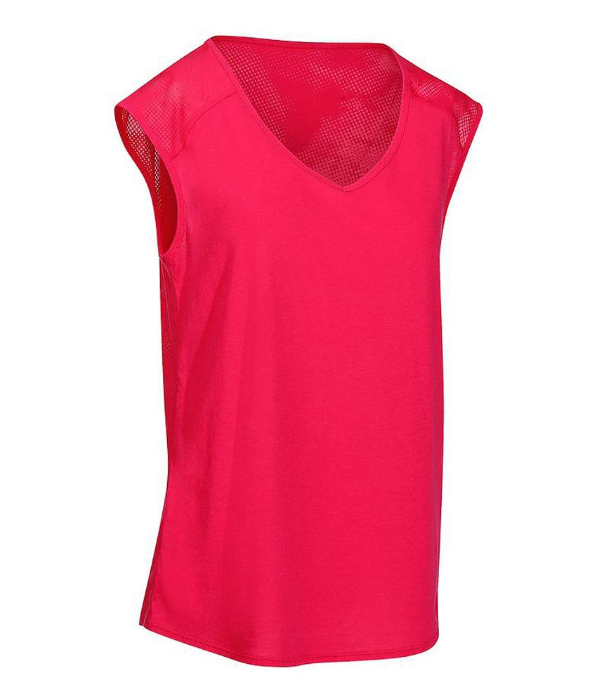 DOMYOS Shape Women's Strength Training Tank By Decathlon