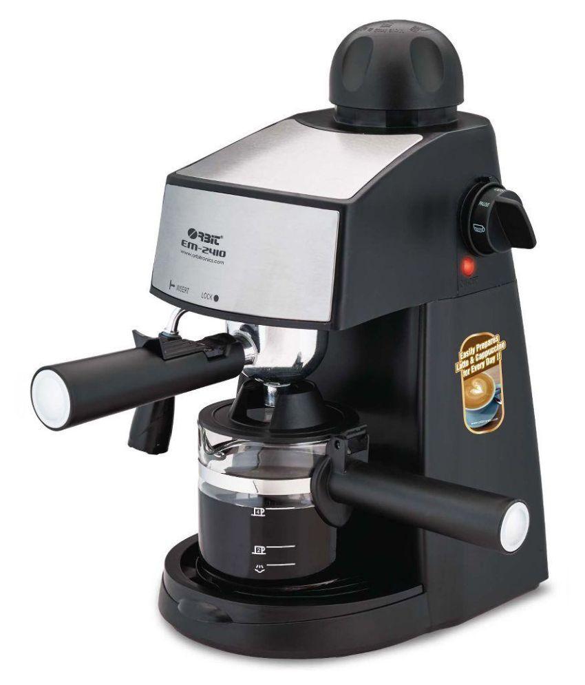 Electric Coffee Maker Wattage : orbit em-2410 3 Cups 800 Watts Espresso Coffee Maker Price in India - Buy orbit em-2410 3 Cups ...