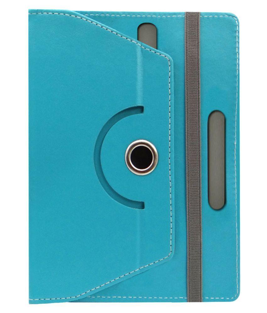 ACM Rotating Flip Cover for iBall Slide 3G 17 - Blue