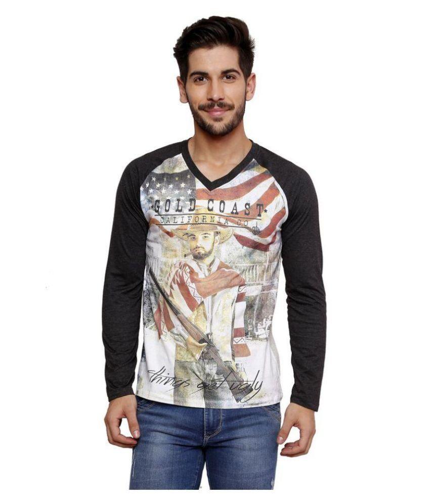 Era Of Attitude Multi V-Neck T-Shirt