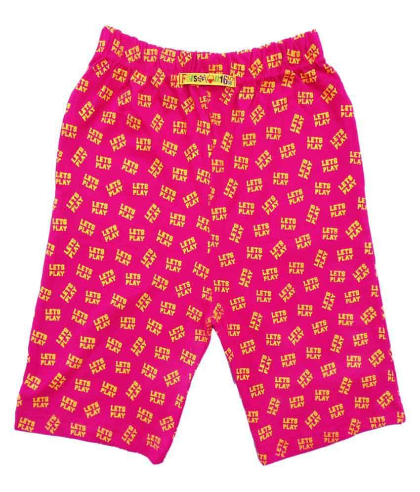 Fashionable Pink Short