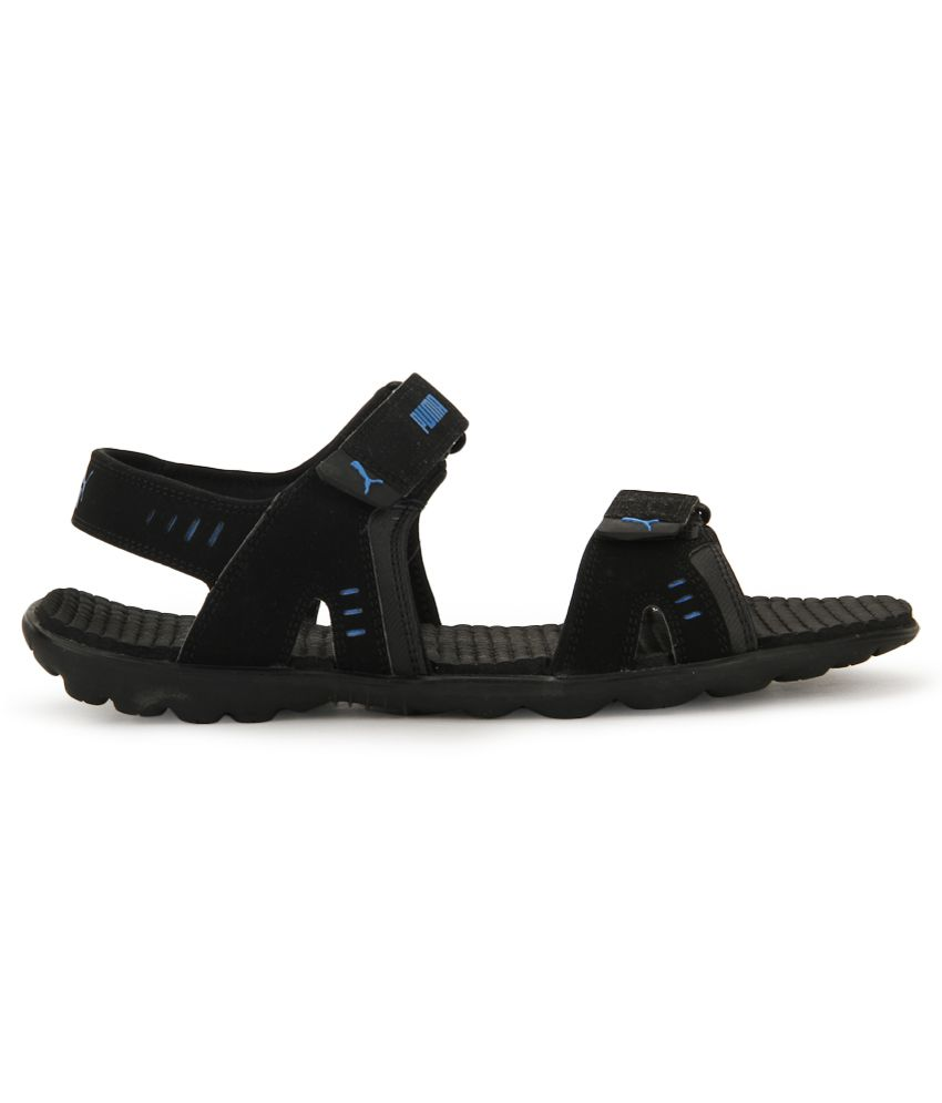 Puma Silicis Buck DP Black Floater Sandals - Buy Puma Silicis Buck ... 171fb160ae