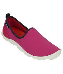 Crocs Pink Casual Shoes Standard Fit
