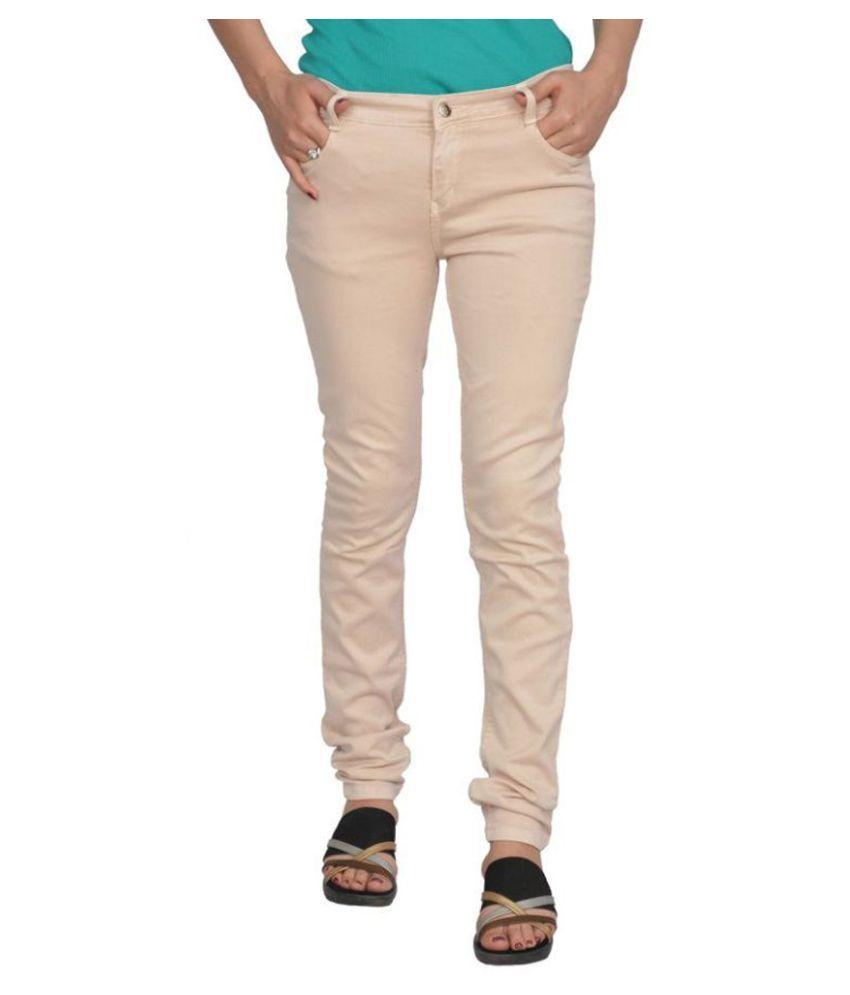 Smart Lady Beige Jeans Skinny