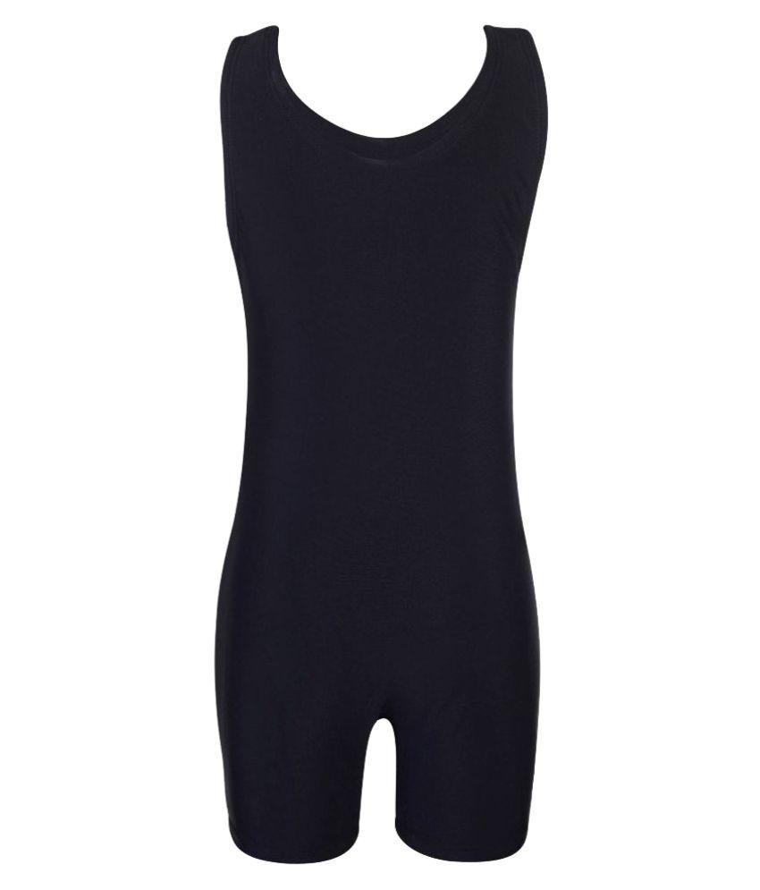 Bosky Black Polyester Active Wear