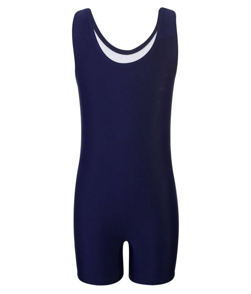 Bosky Navy Blue Polyester Active Wear
