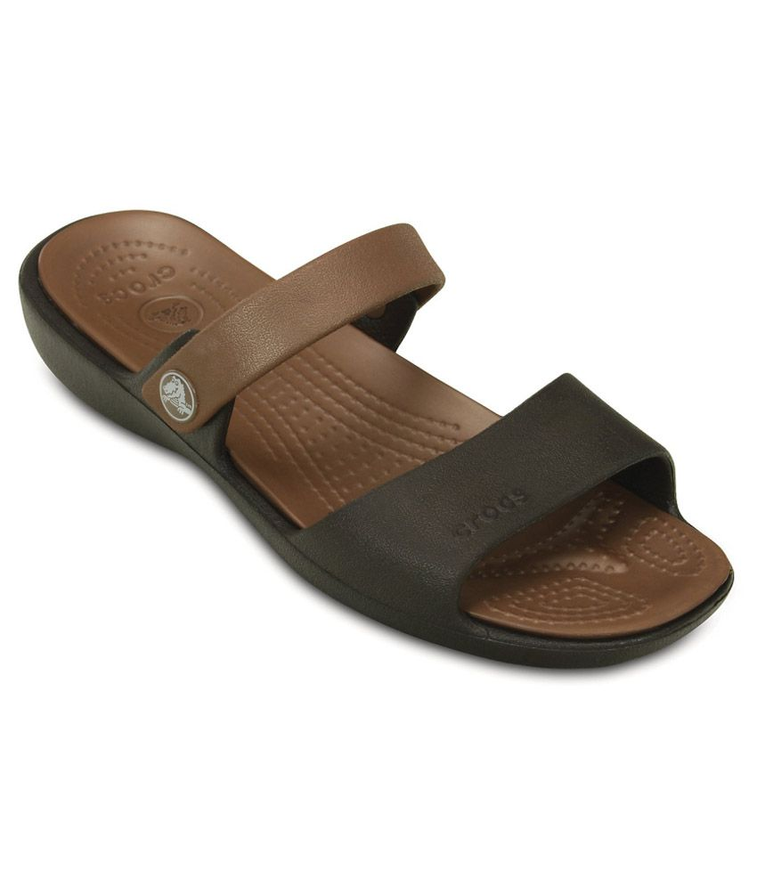 Crocs Relaxed Fit Brown Slippers