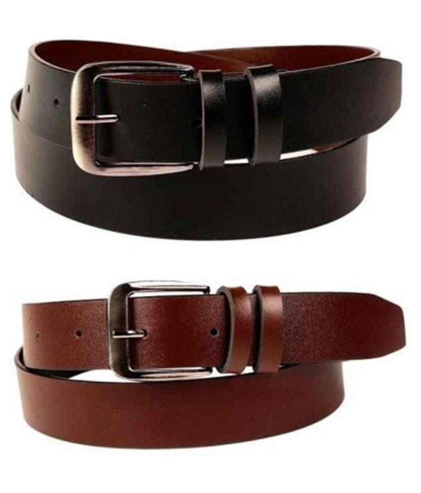 Daller Multicolour Belts - Set Of  2