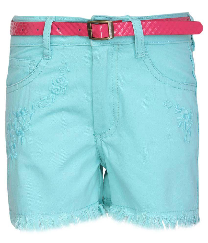 Nauti Nati Green Shorts