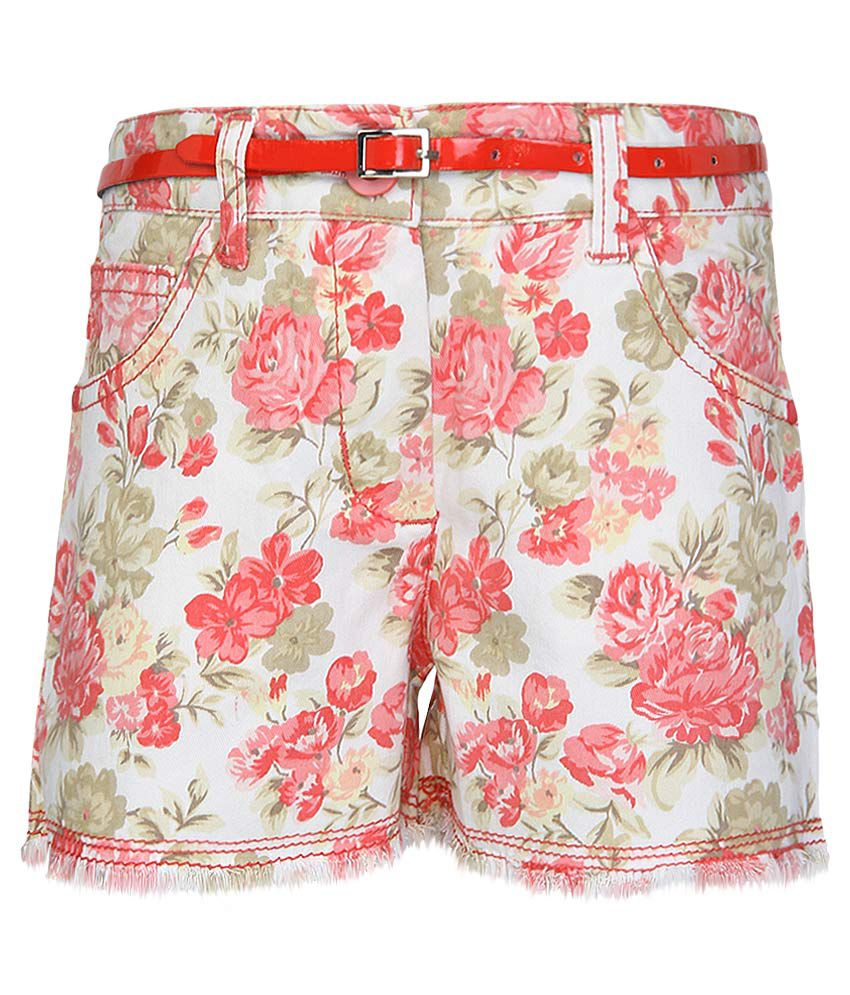 Nauti Nati Red Shorts