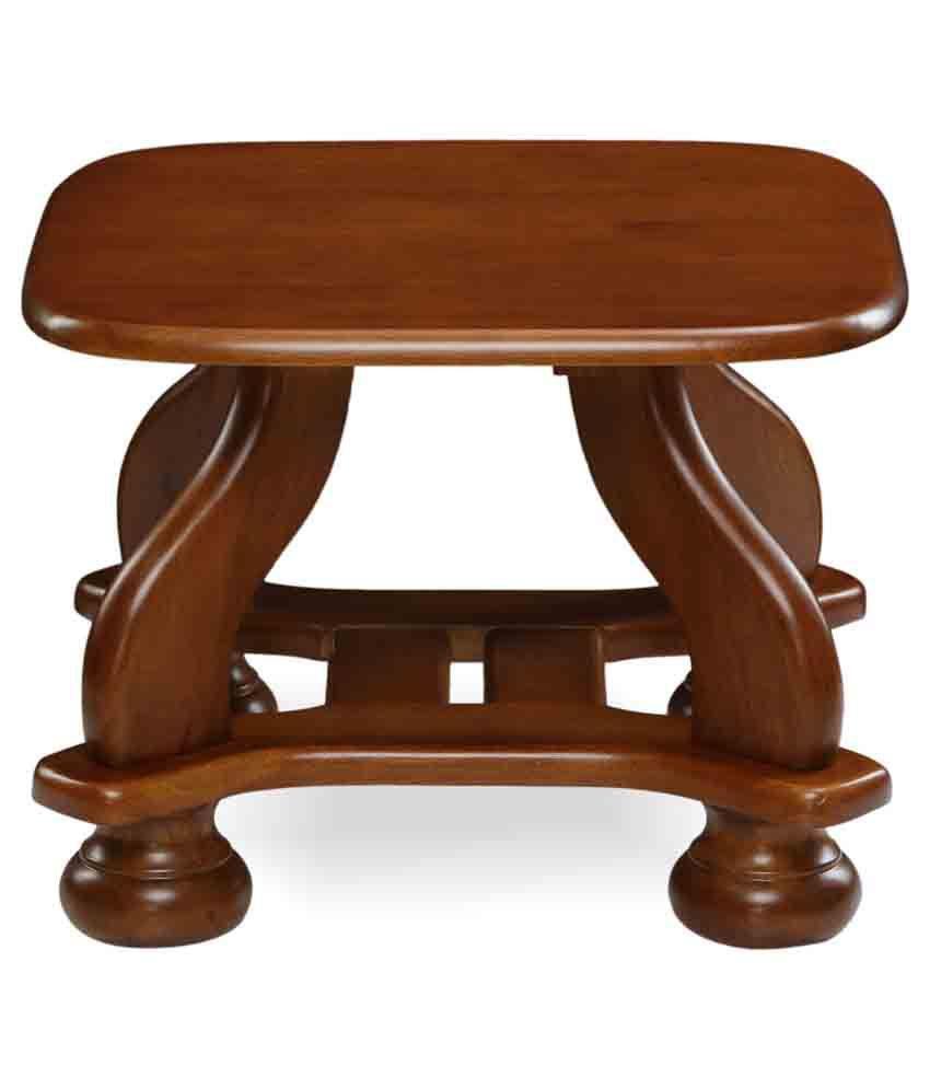 Nilkamal Melbourne Solid Wood Side Table