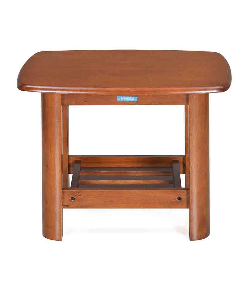 Nilkamal Rockford Solid Wood Corner Table