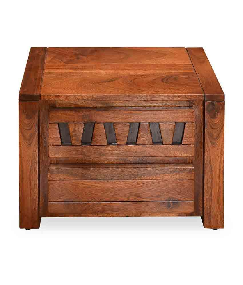 @home by Nilkamal Thyme Solid Wood Night Stand