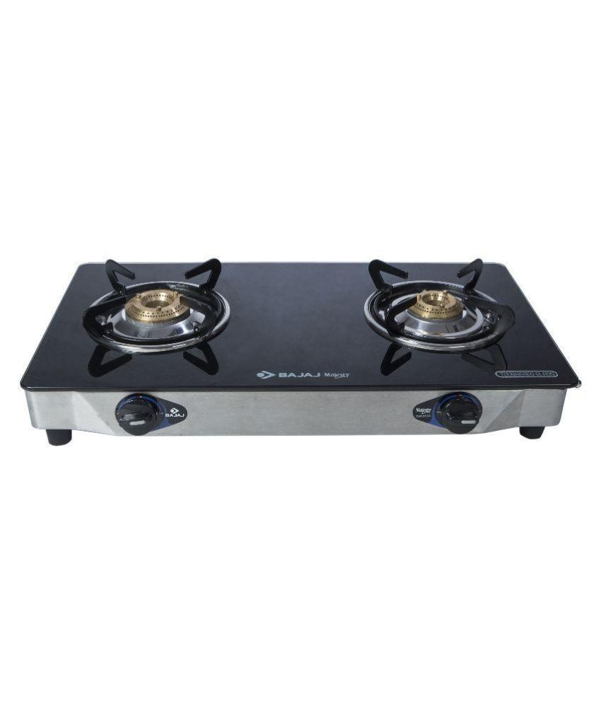 Bajaj Majesty CGX2 ECO SS 2 Burner Gas Cooktop