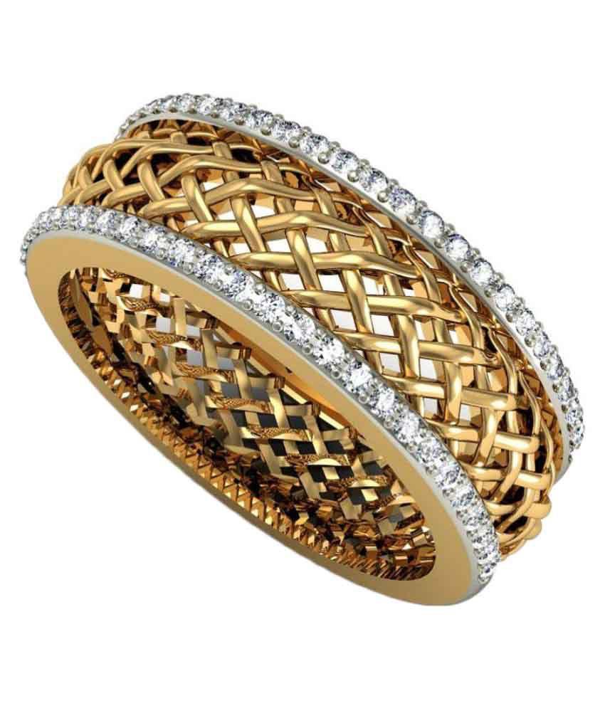 Rasav Jewels BIS Hallmarked 14kt Gold Ring